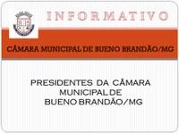 Presidentes da Câmara Municipal de Bueno Brandão